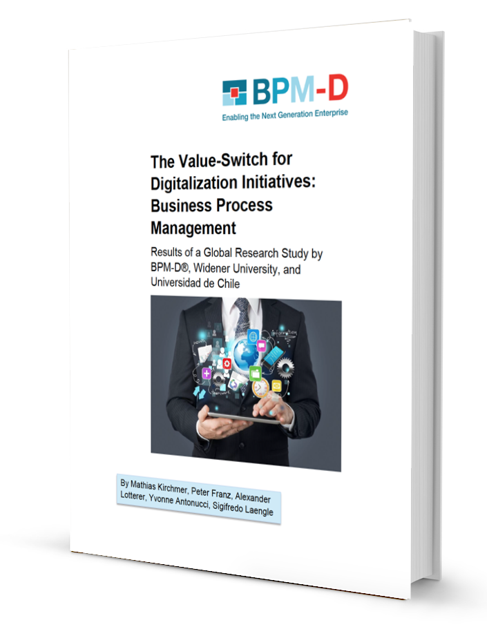 The Value Switch for Digitalization Initiatives: Report on Business Transformation & Operational Excellence Insights Now