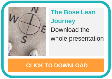 CTA Bose Lean Journey