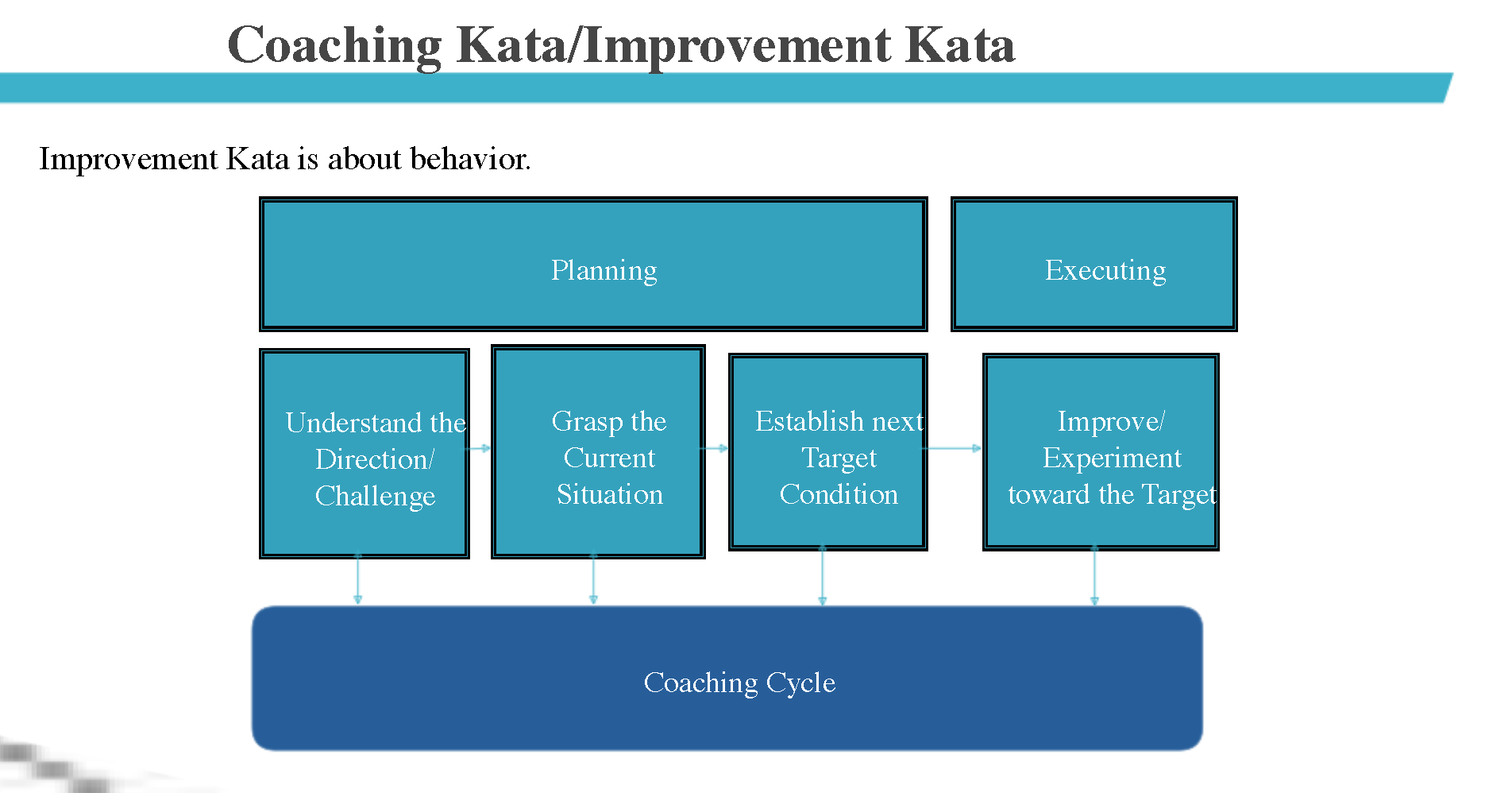 Kata Coaching & Humble Enquiry