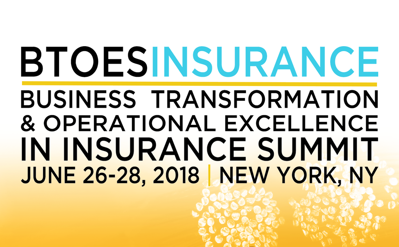 Business Transformation & Operational Excellence in Insurance Summit