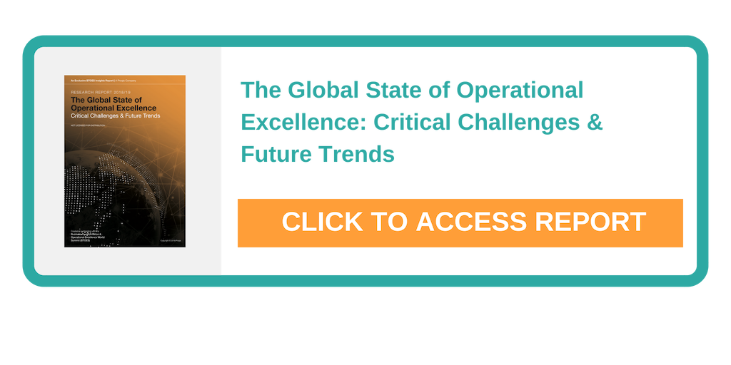 The greatest development for Operational Excellence in the past 5 years - Research Report 2018/19