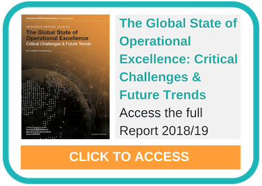 Research Report 2018/19 - The Global State of Operational Excellence: Critical Challenges & Future Trends