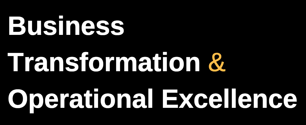 Business Transformation & Operational Excellence on LinkedIn