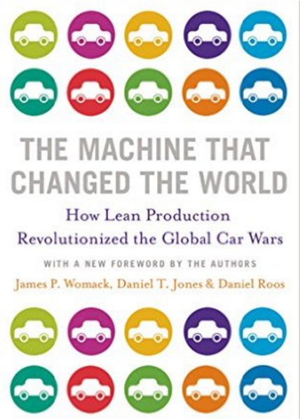 The Machine That Changed the World: How Lean Production Revolutionized the Global Car Wars, Top 10 Lean SIx Sigma Books on BTOES Insights now