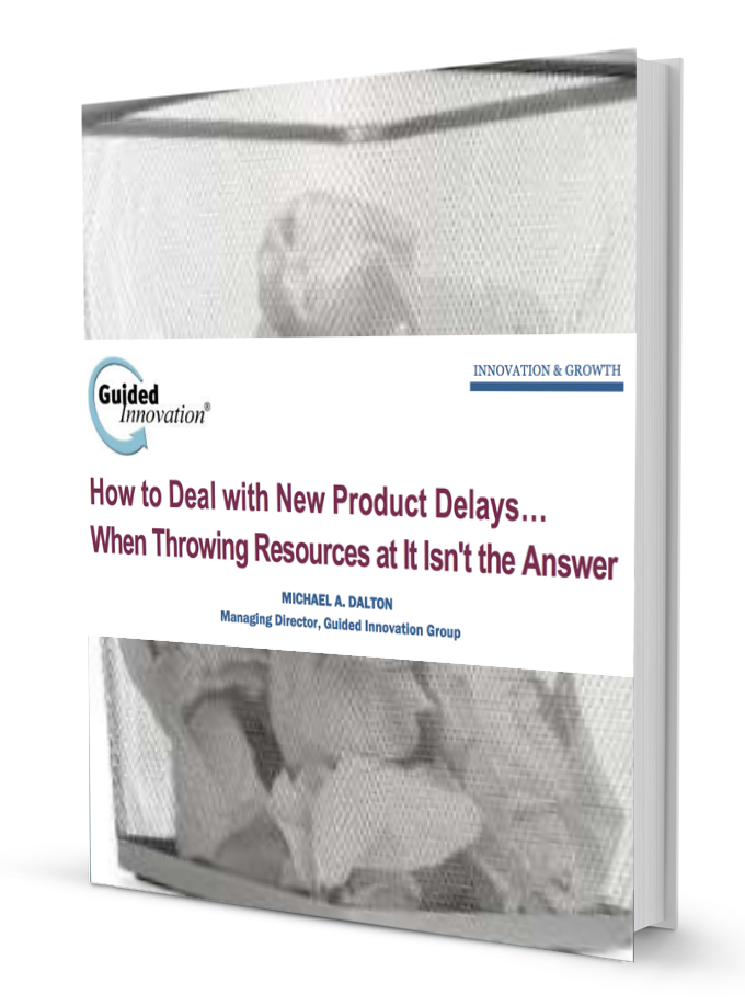 How to Deal with New Product Delays… When Throwing Resources at It Isn't the Answer