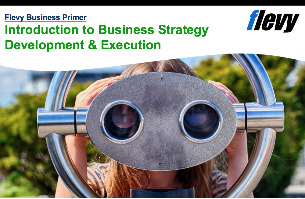 Framework Primer: Introduction to Business Strategy Development & Execution