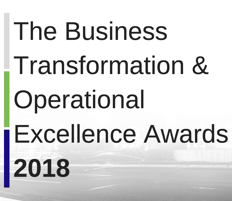 The Business Transformation & Operational Excellence Awards 2018