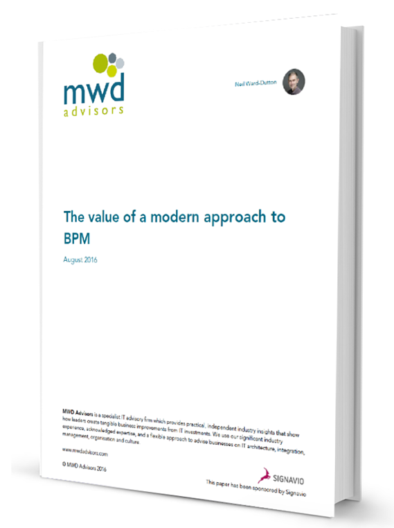 The value of a modern approach to BPM