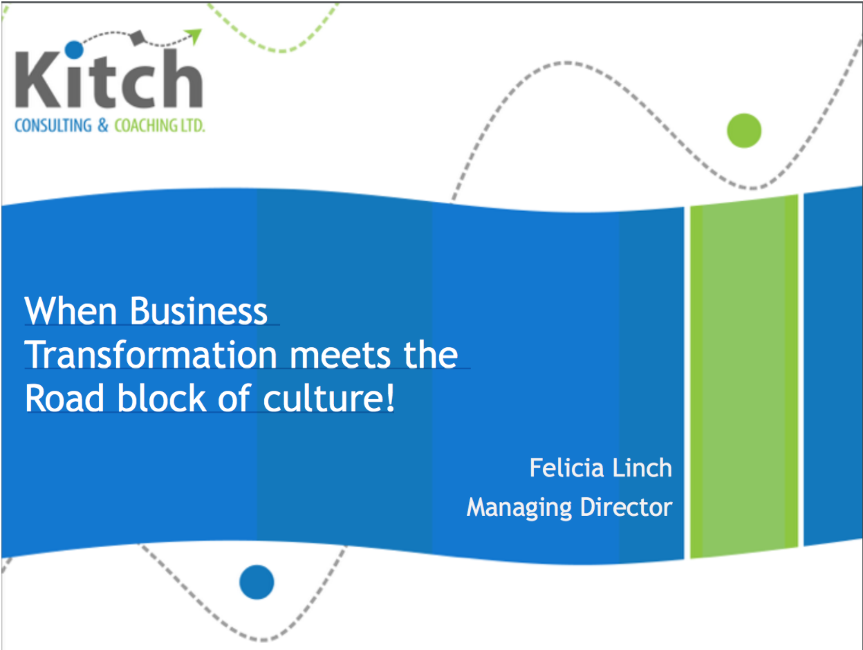 When Business Transformation Meets the Roadblock of Company Culture