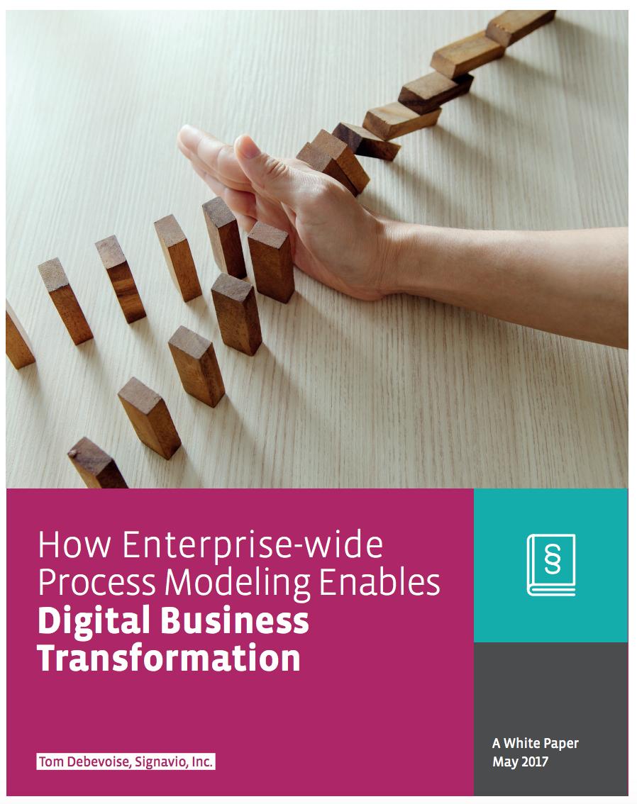 How Enterprise-wide Process Modeling can enhance Digital Business Transformation