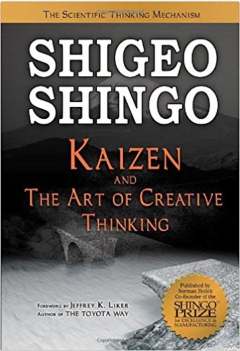 Kaizen and the Art of Creative Thinking: The Scientific Thinking Mechanism - Best books on Operational Excellence