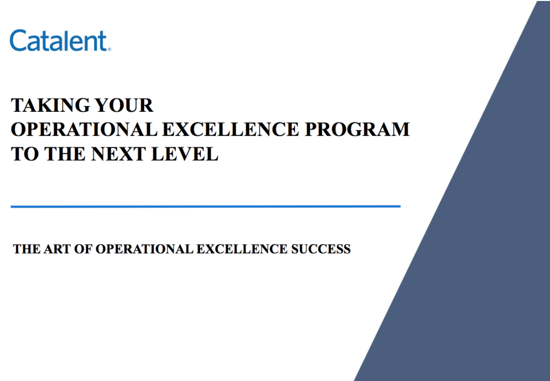 How to take Operational Excellence Program to the Next Level
