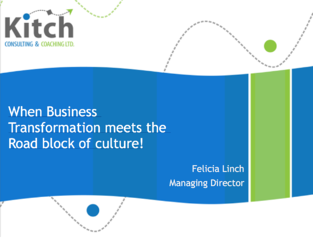 Operational Excellence Case Study - When Business Transformation meets the Road block of culture!