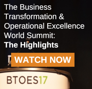 Which Operational Excellence Conference should you attend? Business Transformation & Operational Excellence World Summit, 2018
