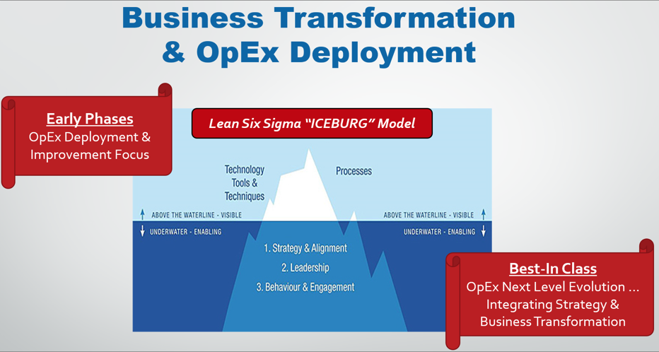 """Next Level"" evolution of Operational Excellence"