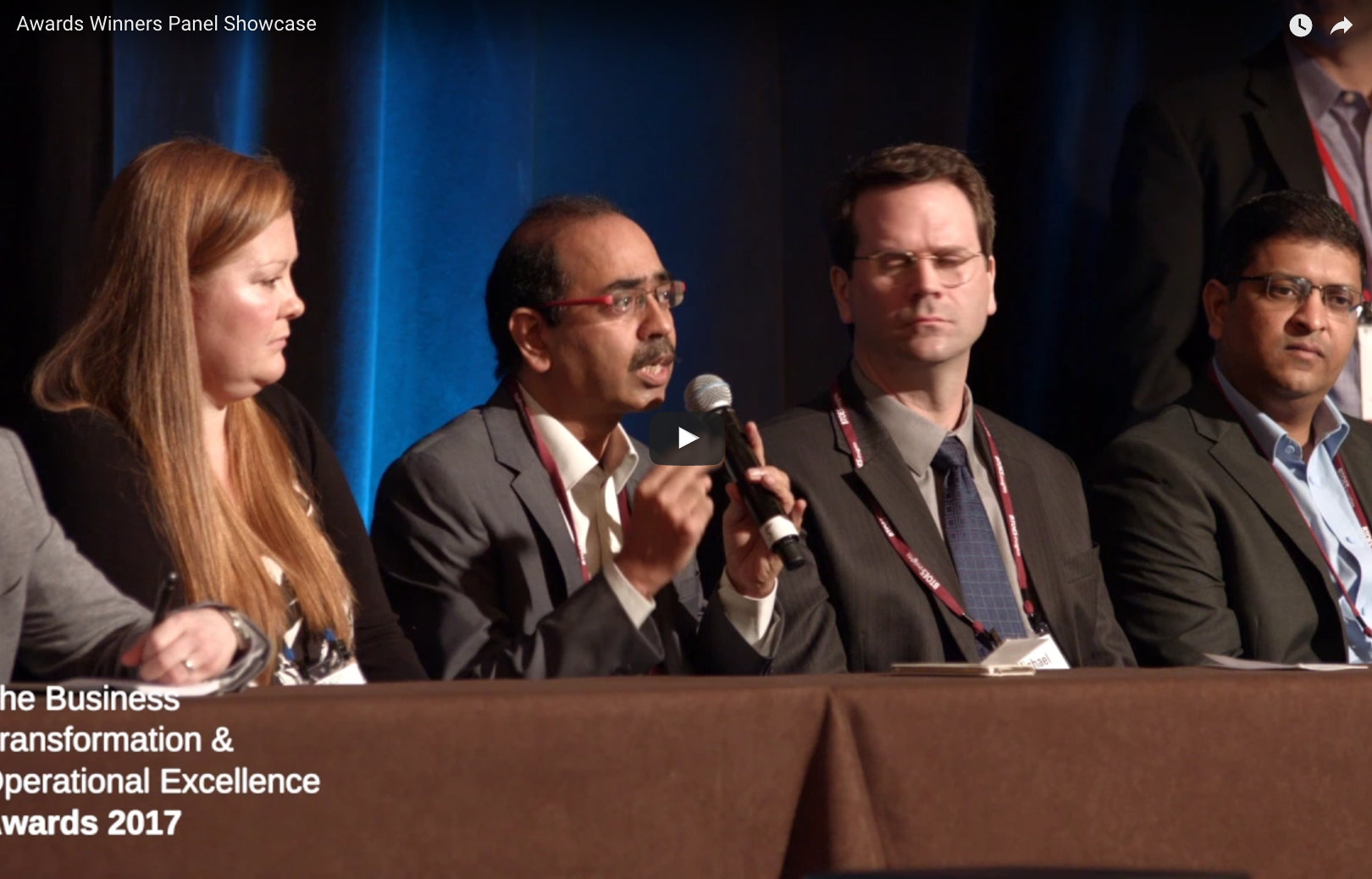 Discussion from the Business Transformation & Operational Excellence Awards Winners Panel, including IBM, Sanofi, Philips, Wipro, and many more.