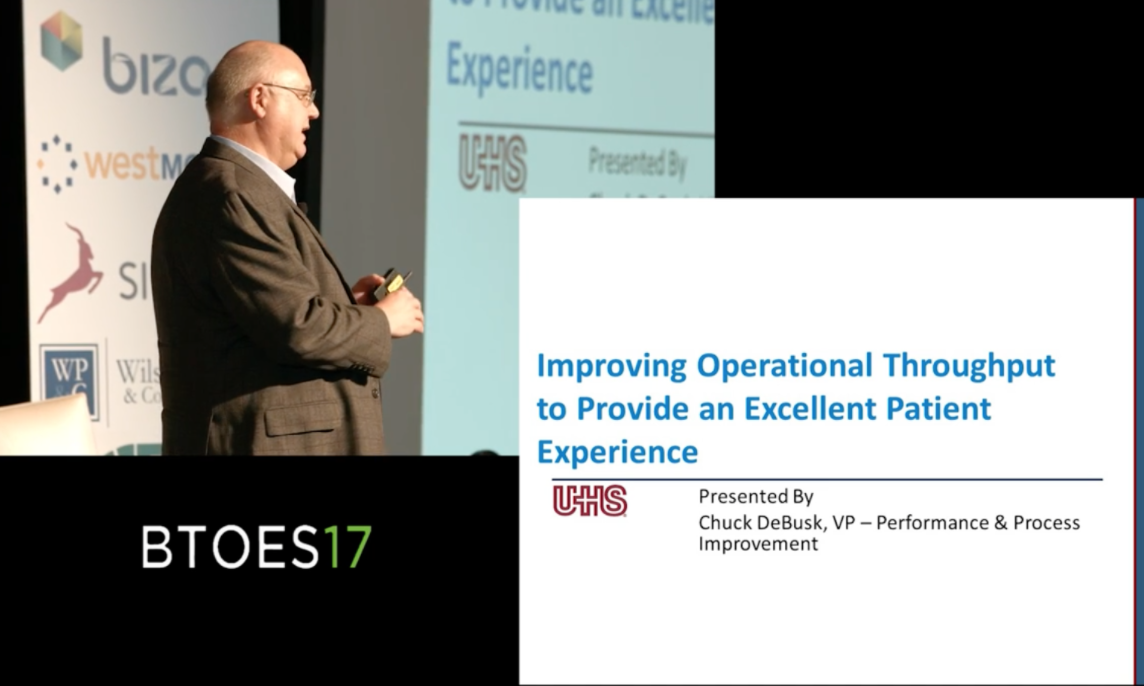 Using process excellence to improve operational throughput