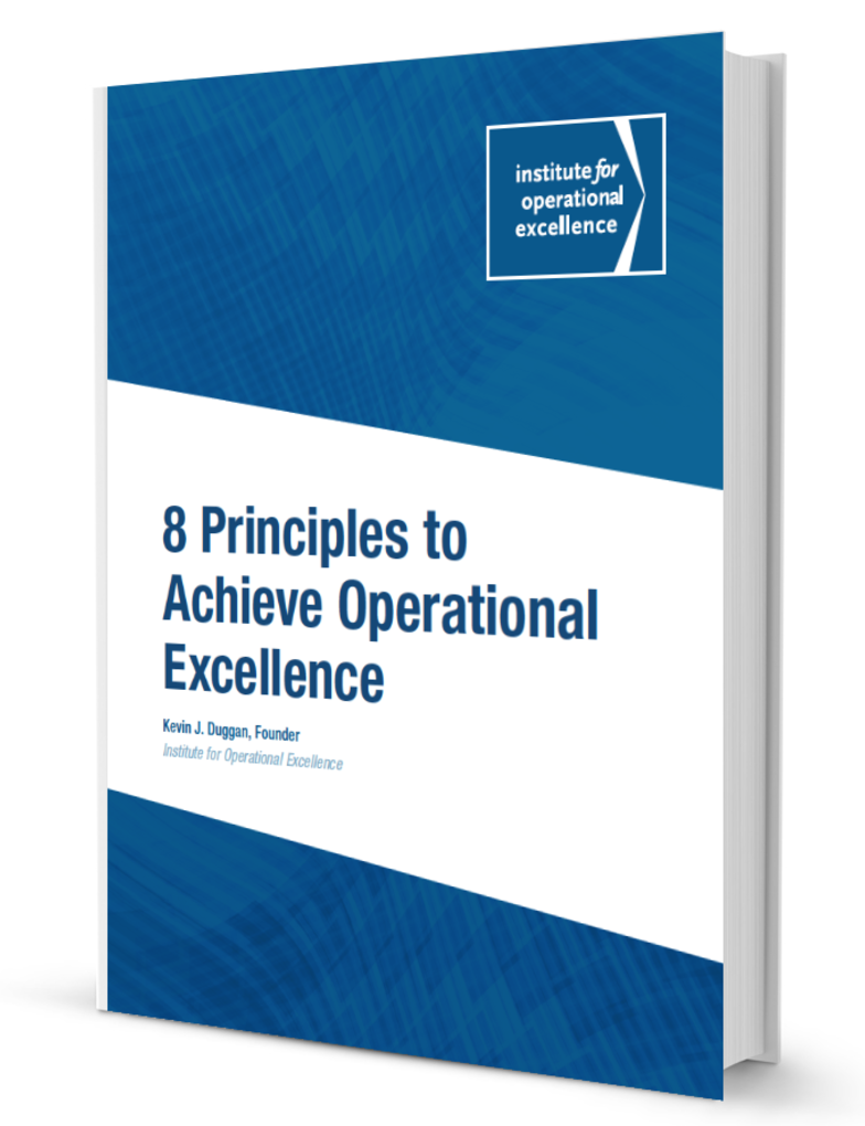 8 Principles to Achieving Operational Excellence - White Paper on Process Excellence