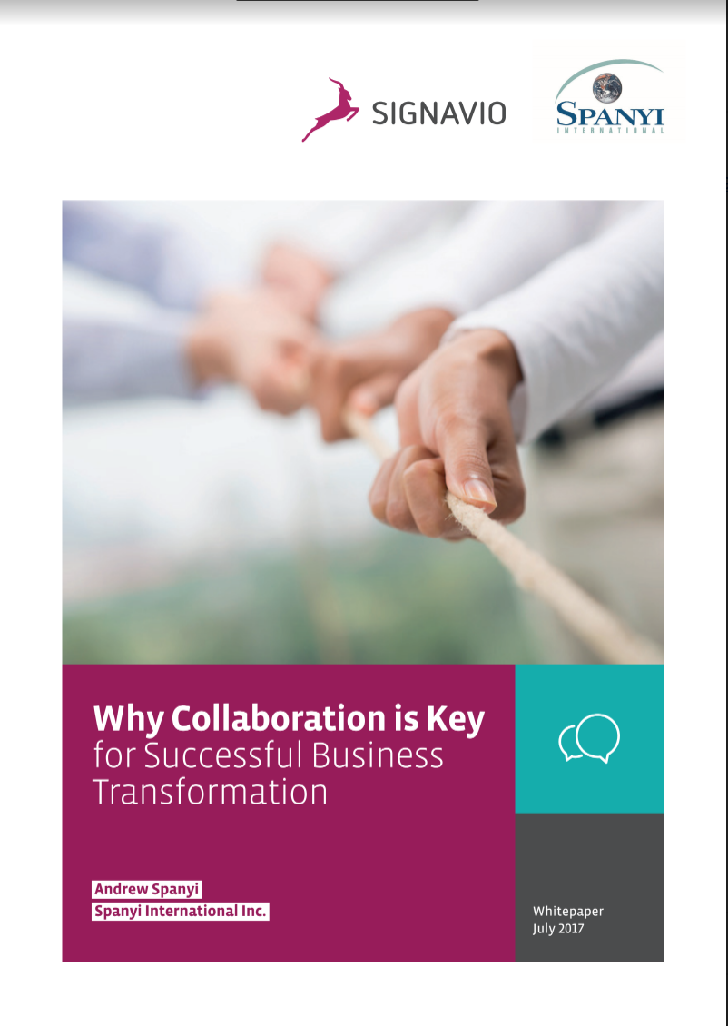 Redesigning Process Management; Collaboration is Key