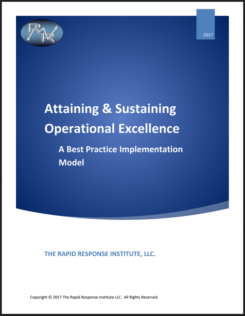 Attaining & Sustaining Operational Excellence: A Best Practice Implementation Model