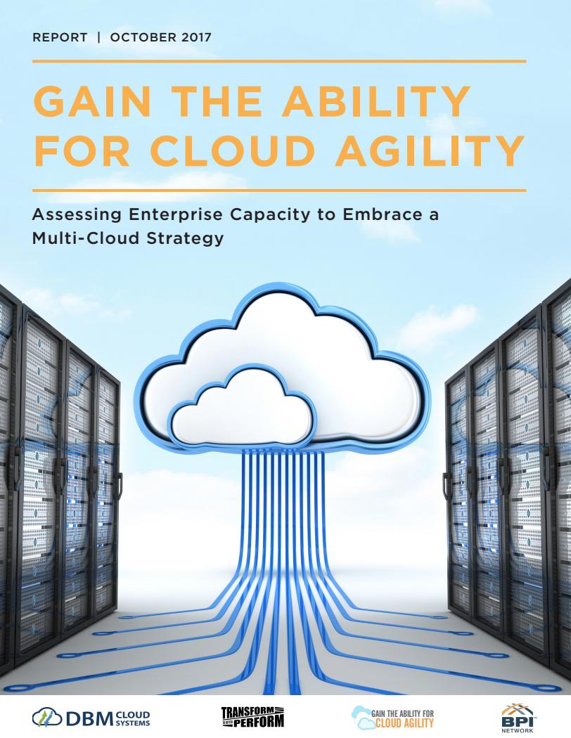 Digital Transformation White Paper Cloud Agility Enterprise Capacity