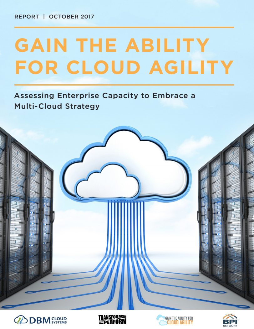 Digital Transformation White Paper Cloud Agility Enterprise Capacity