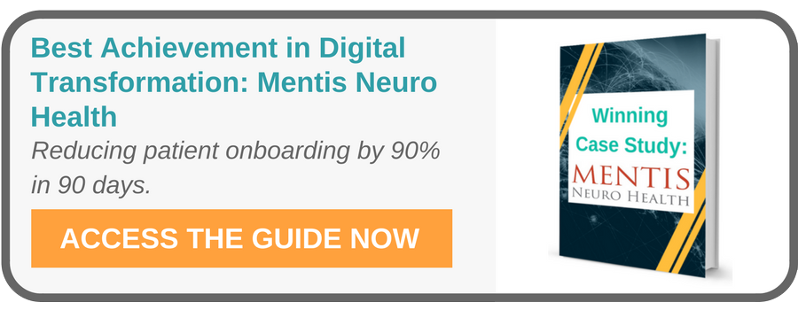 Best Achievement of Operational Excellence in Digital Transformation: Mentis Neuro Health