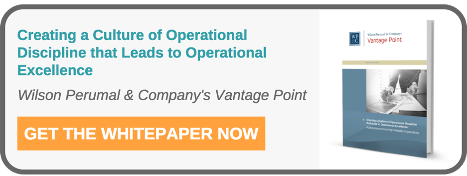 Improve your productivity with a Company culture of Operational Excellence