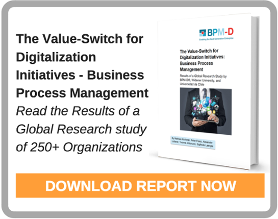 The Value Switch for Digitalization and RPA - BPM report
