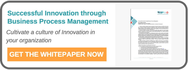 Successful Innovation through Business Process Management
