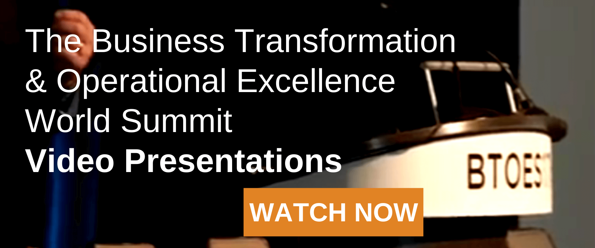 The Business Transformation & Operational Excellence Industry Awards Video Presentation